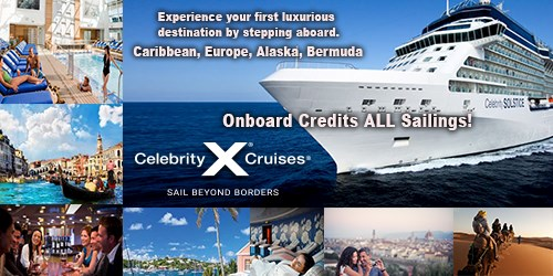 Celebrity Premium Cruising - Pick Your Perks