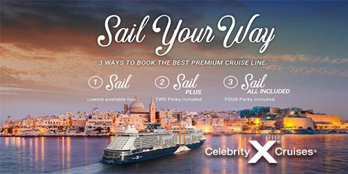 Celebrity Cruises  SAIL YOUR WAY