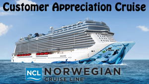 Cuatomer Appreciation Cruise