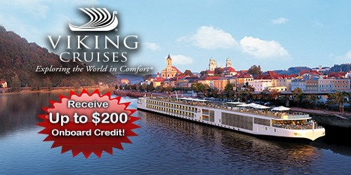 Receive up to $200 Onboard Credit - Viking River