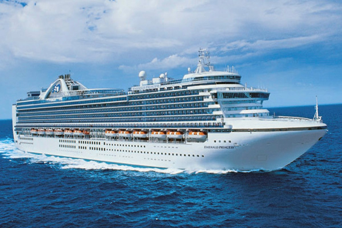 Emerald Princess begins long journey to Australia   Cruise