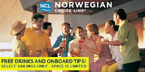 Free Drinks and Tips on NCL