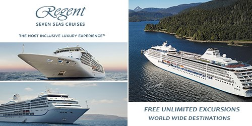 Regent Seven Seas - Ultra Luxury, Free Excursions