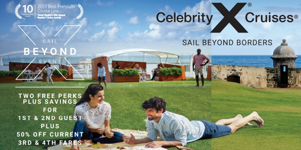 Celebrity Sail Beyond Event March