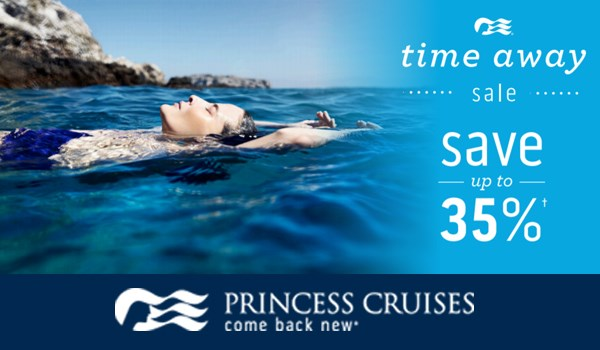 Princess Cruises Time Away Sale